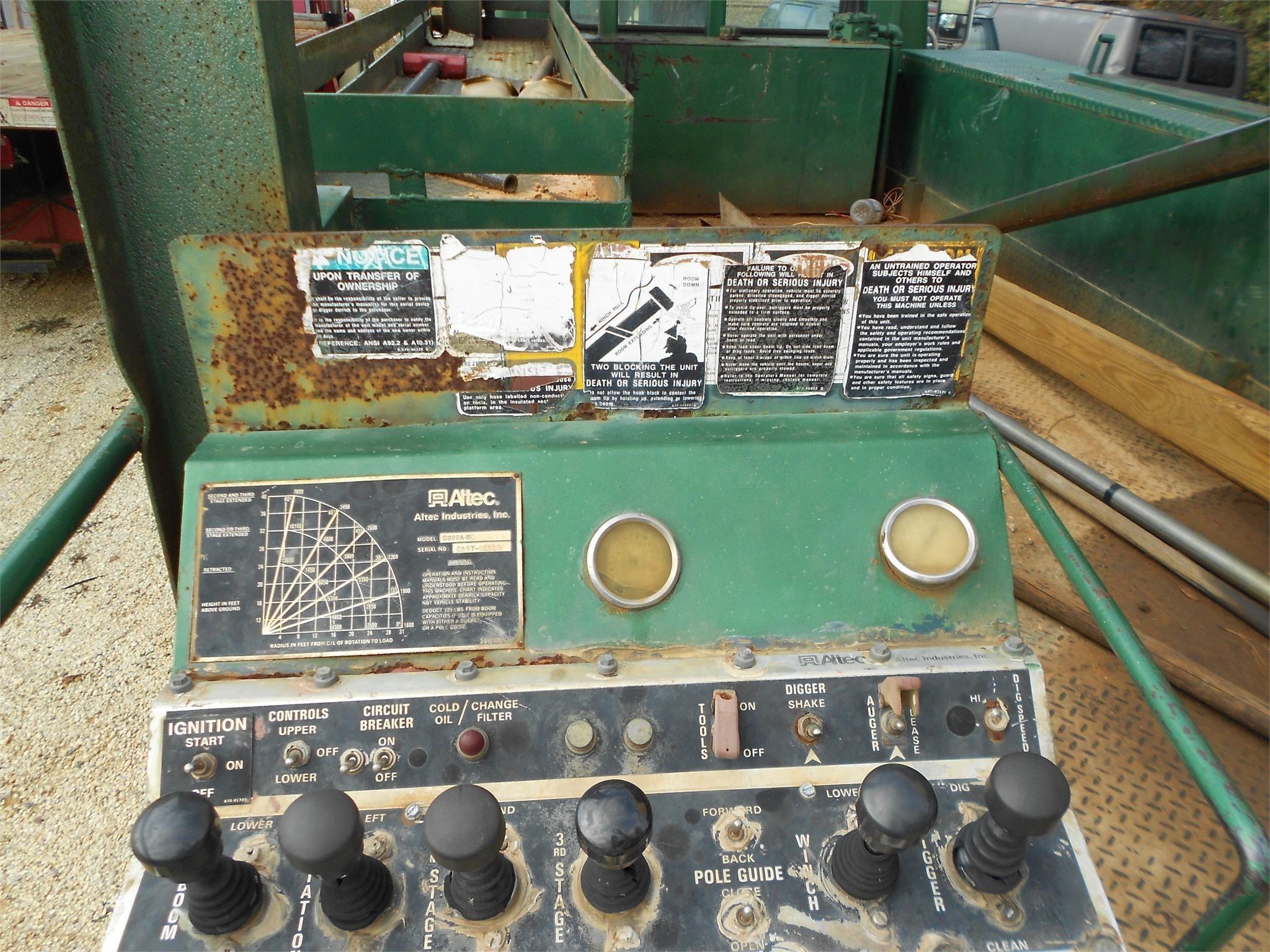 1987 ALTEC D880ABC   Coastal Machinery Company