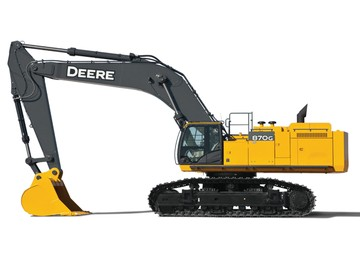 Production Class Excavators