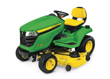 X380 Lawn Tractor with 54-in. Deck