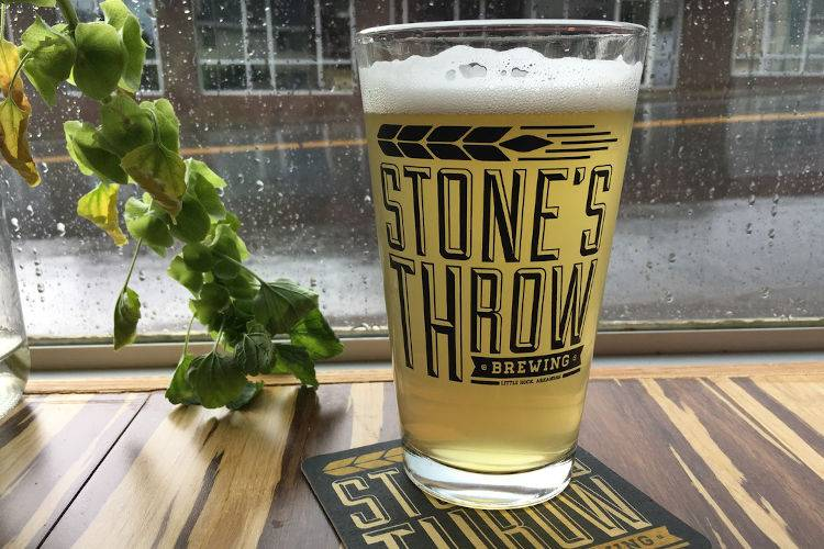 Stones Throw Brewing-2019-beer on a rainy day