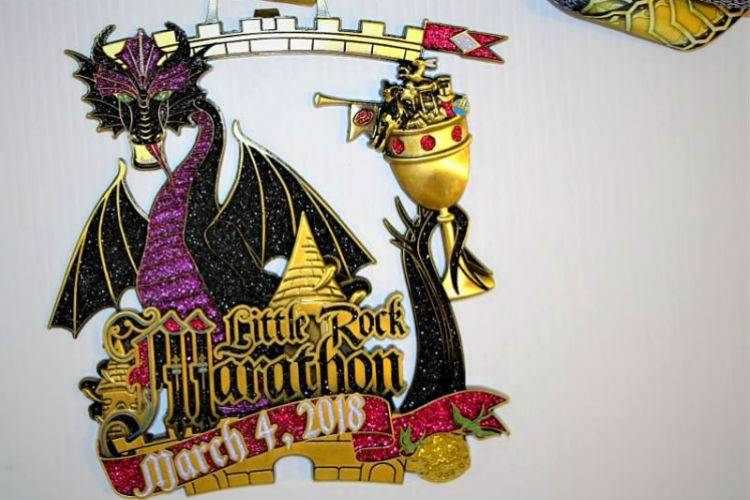 Little Rock Marathon-medal-2018