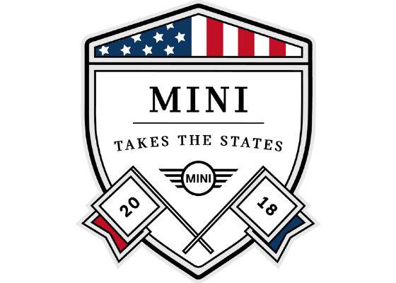 Mini Takes the States-emblem