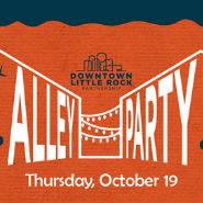 Downtown Little Rock Partnership-alley party-october 19